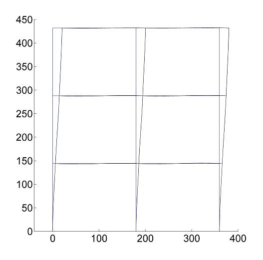 2D Beam elements finite element MATLAB code | matlab-fem com